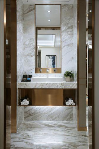 140平米三室一厅现代简约风格卫生间装修案例