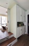 50平米公寓美式风格玄关设计图