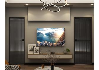 50平米公寓现代简约风格客厅装修图片大全