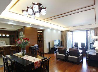 80平米三室一厅东南亚风格客厅图