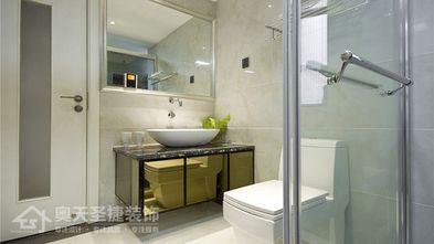 5-10万110平米三室一厅现代简约风格卫生间装修图片大全