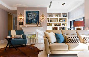 80平米三室一厅现代简约风格客厅装修效果图