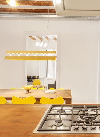140平米四室一厅地中海风格餐厅欣赏图
