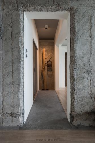 140平米四室两厅田园风格玄关图