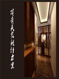 20万以上130平米三室两厅东南亚风格走廊图片大全
