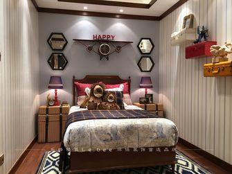 110平米三室两厅东南亚风格儿童房图