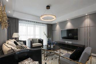 140平米四室四厅美式风格客厅图片大全