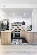 70平米三宜家风格厨房图