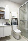 120平米三室两厅宜家风格卫生间装修案例