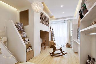 80平米三室一厅日式风格儿童房设计图