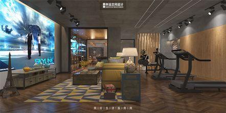 140平米别墅现代简约风格影音室欣赏图