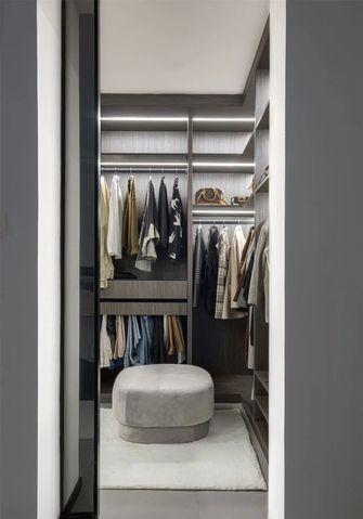 130平米三室两厅混搭风格衣帽间图