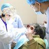 [术后1天] 朋友介绍我去美莱整形口腔,医生的审美和技术都很好,所以我就和他一起去看方案了,医生看了我的牙片然后给出了治疗方案,我就决定做BPS全口义齿