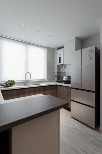 130平米四室两厅现代简约风格厨房图片大全