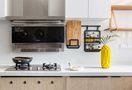100平米三室五厅北欧风格厨房装修案例
