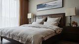130平米四现代简约风格卧室家具设计图