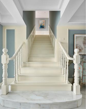 140平米复式法式风格楼梯间装修效果图