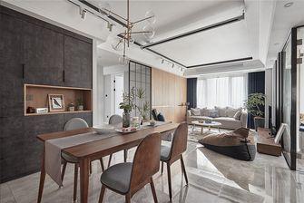 120平米三室两厅北欧风格餐厅效果图