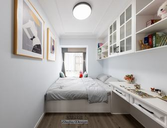 120平米三室一厅混搭风格卧室效果图