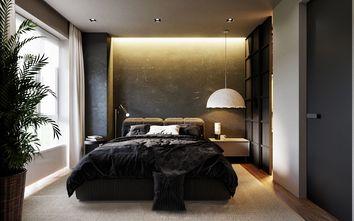 90平米一居室混搭风格卧室效果图