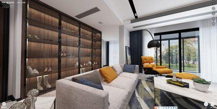 100平米三室两厅现代简约风格衣帽间装修图片大全