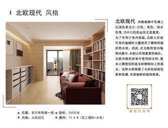 20万以上140平米复式混搭风格客厅图片