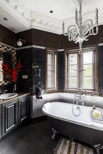 140平米复式美式风格卫生间设计图