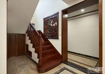 140平米别墅中式风格楼梯装修案例