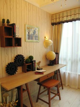 100平米四室一厅田园风格书房图片