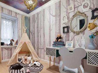 80平米三室一厅新古典风格儿童房效果图