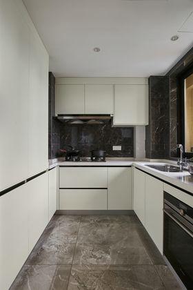 120平米三室兩廳現代簡約風格廚房圖片