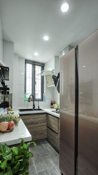 110平米三中式风格厨房设计图