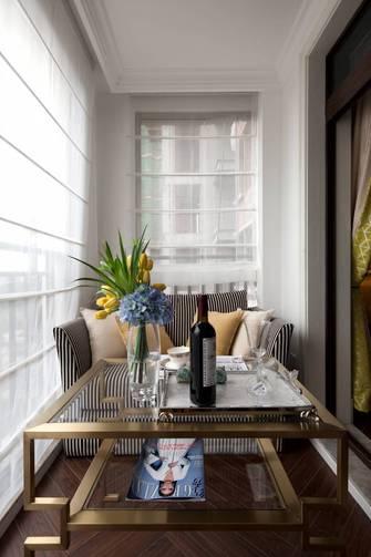 80平米三室两厅美式风格阳台图片大全
