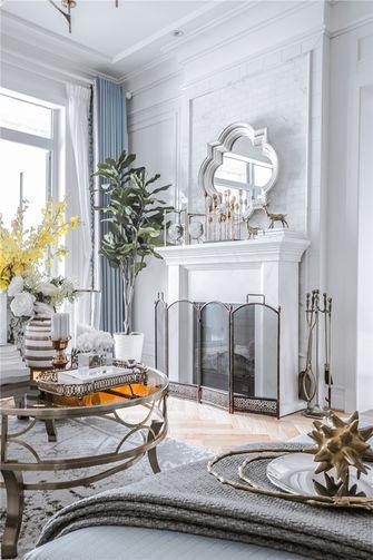 富裕型140平米四室四厅法式风格客厅装修案例