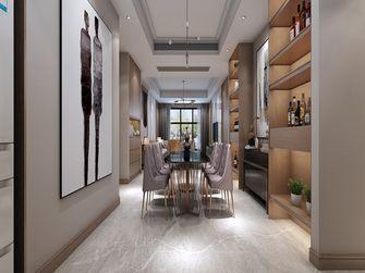 140平米三现代简约风格餐厅设计图
