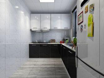 60平米现代简约风格厨房橱柜装修案例