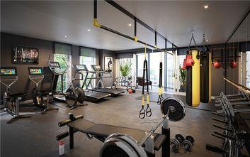 130平米三室一厅北欧风格健身室欣赏图