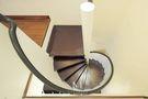 豪华型120平米三室两厅新古典风格楼梯装修图片大全