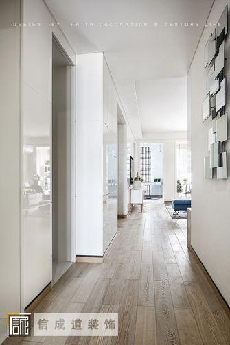 110平米现代简约风格走廊装修图片大全