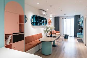 经济型80平米北欧风格客厅装修案例