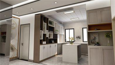 80平米三室一厅现代简约风格餐厅图