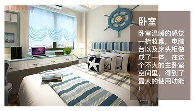 70平米一室两厅地中海风格卧室效果图