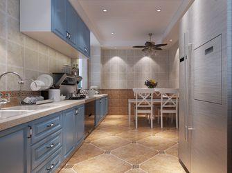120平米三室两厅地中海风格厨房装修图片大全