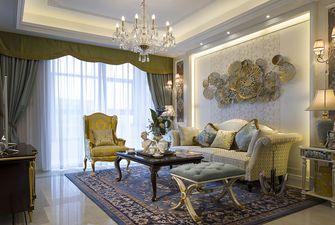 120平米复式法式风格客厅欣赏图
