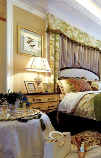 90平米三室一厅田园风格卧室欣赏图