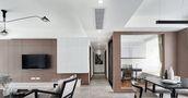 130平米三室一厅北欧风格走廊装修效果图