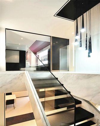 5-10万80平米复式现代简约风格楼梯装修图片大全