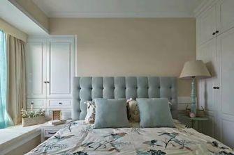 90平米三室一厅美式风格卧室效果图