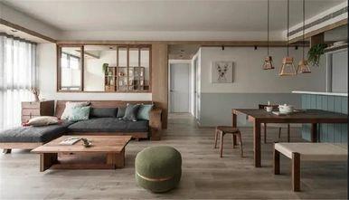 130平米三室一厅日式风格客厅图片