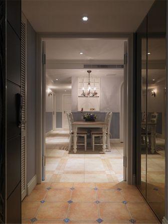 100平米三室一厅田园风格玄关灯饰欣赏图